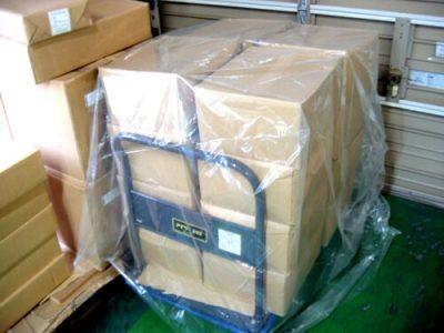 パレットカバーの使用例