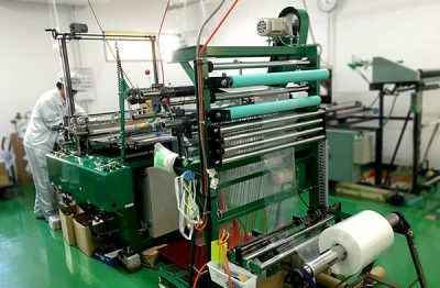 ポリエチレン袋の製造工程と管理体制について
