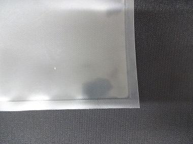 半永久帯電防止シリカ蒸着三方シール袋 タイプαのオーダーメイドの角